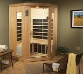Infrared Saunas Lehigh Valley Poconos 3 Person Sauna Angled Finnleo