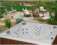 PDC SPAS - RIVER SERIES HOT TUBS